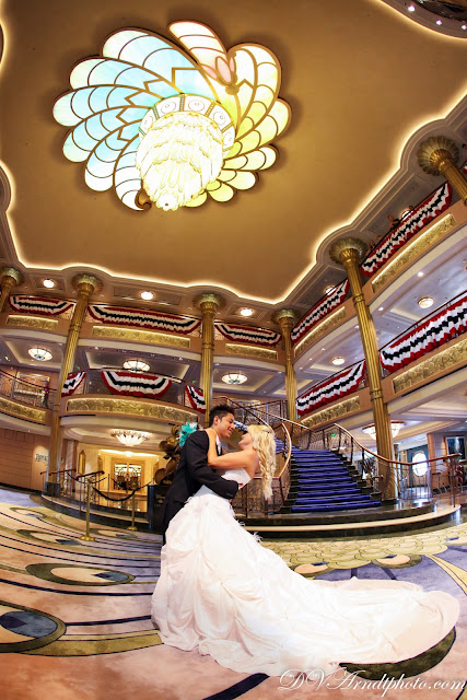 Disney Cruise Just Married And Trash The Dress Session Amanda Milton