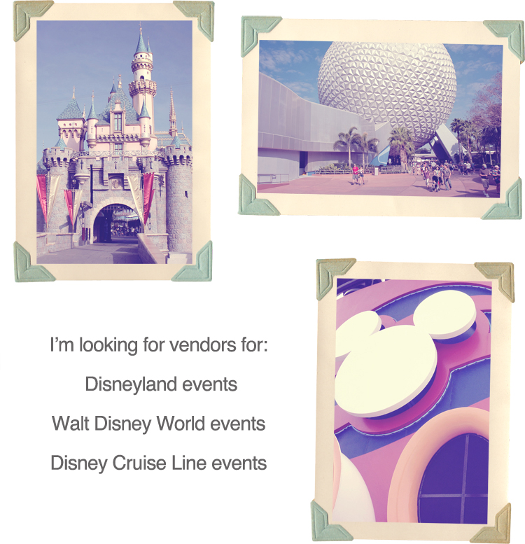 Disney Wedding Vendors