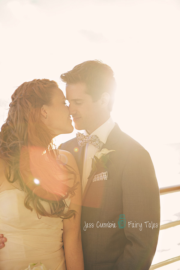 Disney Cruise Wedding Photos: Ginger + Tim