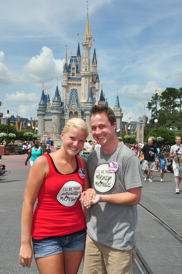 Walt Disney World Proposal and Engagement: Sarah + Robbie