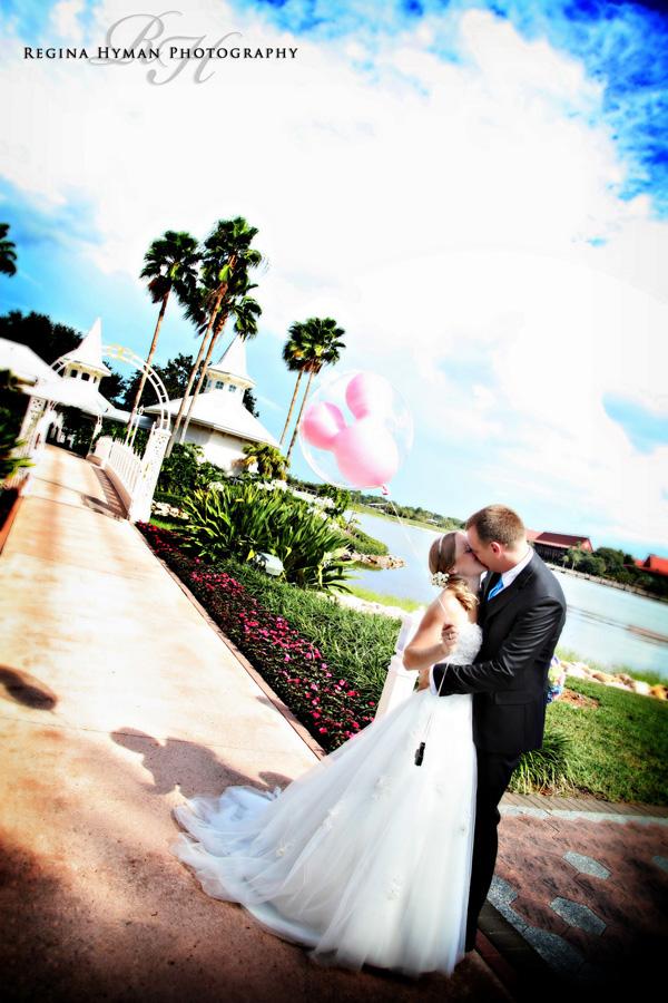 Walt Disney World Wedding: Amanda + Kevin