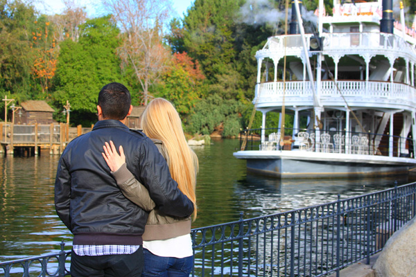 Engaged at Disneyland: Kaycee + Raymond
