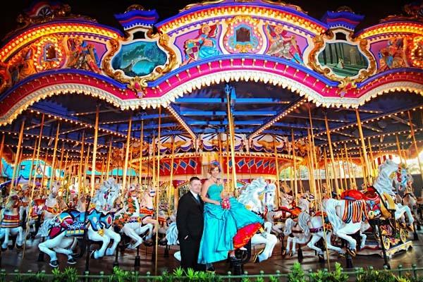 Walt Disney World Wedding Photos: Eve + Phil