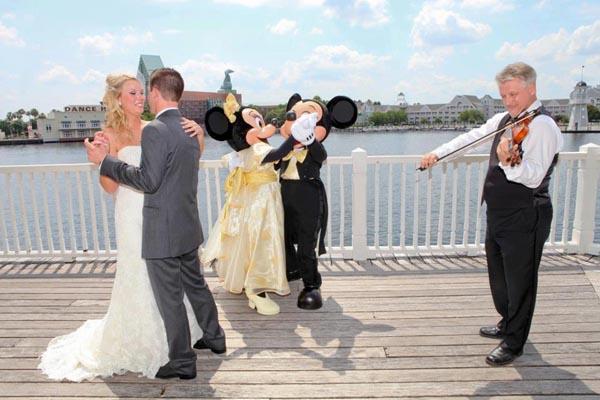Disney Wedding at Sea Breeze Point: Delreah + Robert