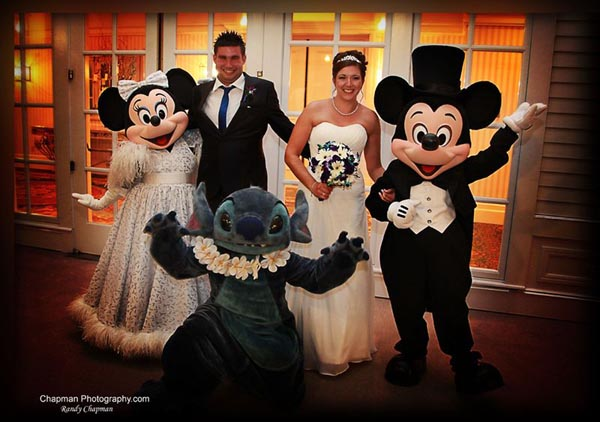 WDW Wedding Photos: Emma + Scott