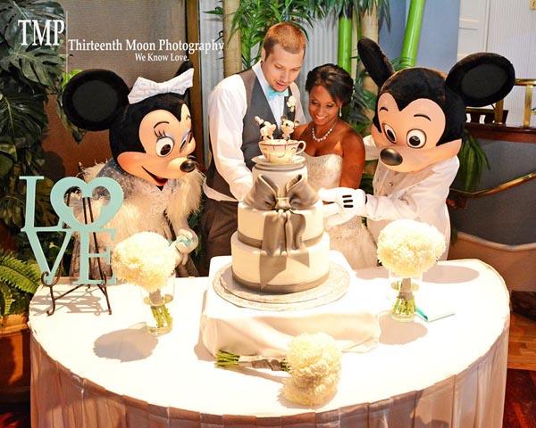 Fairytale Wedding at Walt Disney World: Katie + Jonathan