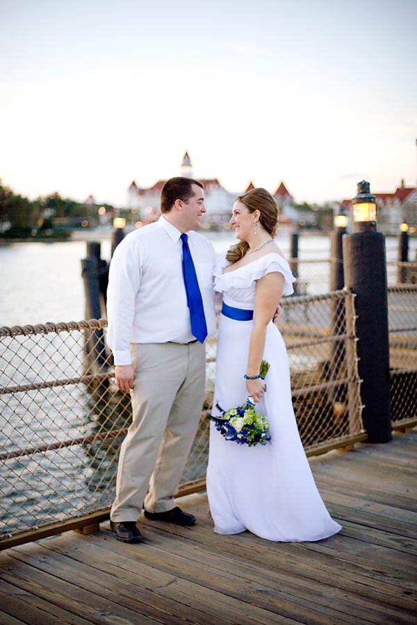 Disney Wedding at Shades of Green: Lindsay + Michael