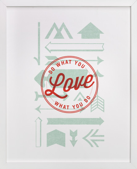 Words from Minted: Typography Art Prints