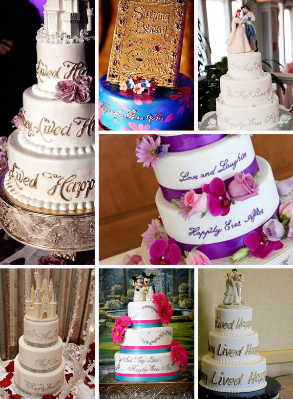 Disney Wedding Cakes: Happily Ever After