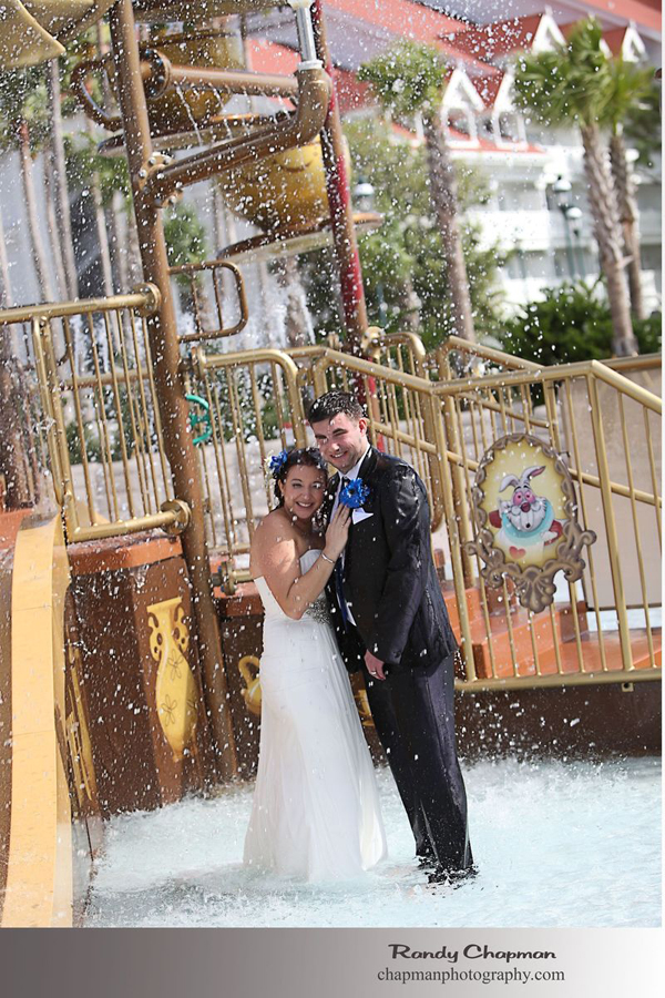 Disney Trash the Dress Photos: Emma + Scott