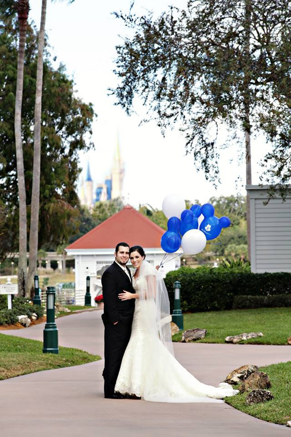 Fairytale Wedding: Brittany + Shawn at Walt Disney World