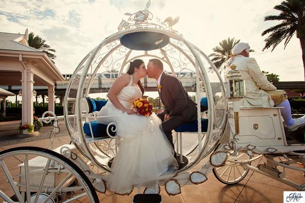 Beautiful Disney Wedding: Ashton + Wayne in WDW