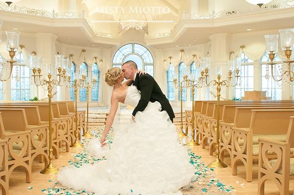 Walt Disney World Wedding Photos: Stacy + Justin
