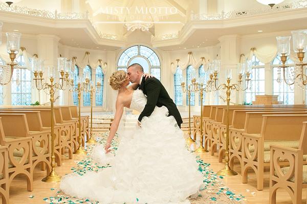 Walt Disney World Wedding Photos: Stacy + Justin
