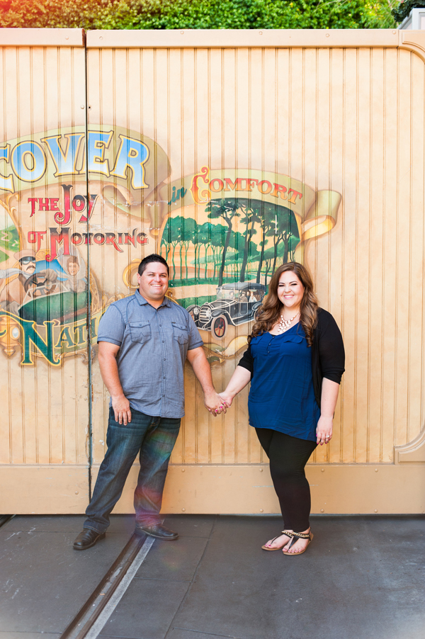 Disneyland Engagement Photos: Melissa + Bobby