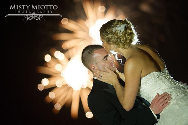 Disney Wedding with Fireworks: Stacy + Justin