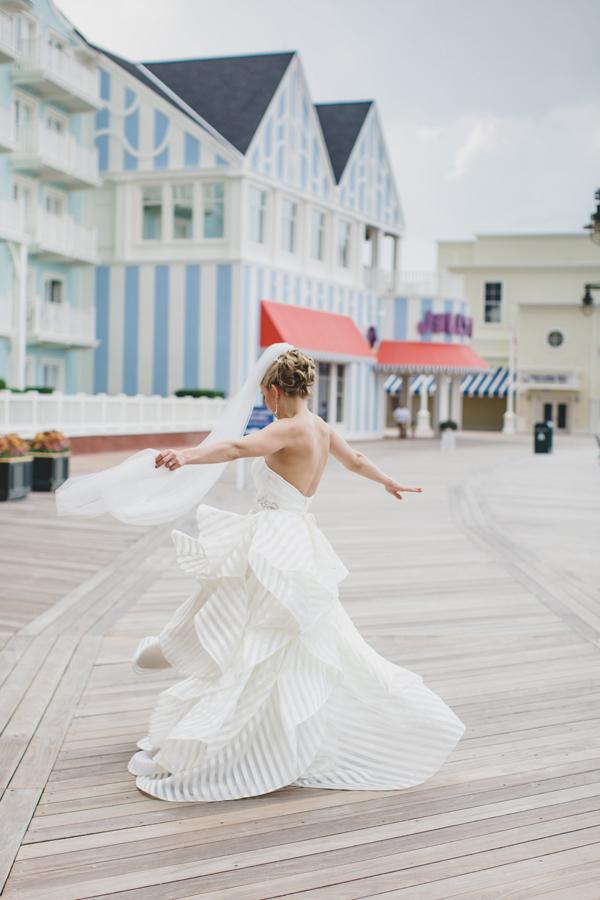 Disney Wedding at the Yacht and Beach Club: Annie + Patrick