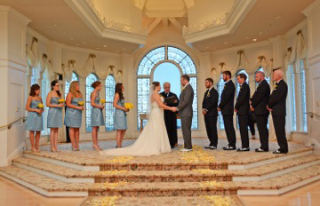 Ceremony at the Disney Wedding Pavilion: Jessica + Patrick
