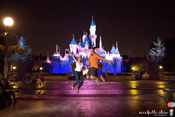 Engagement Photos Taken at Disneyland: Lisa + Marz