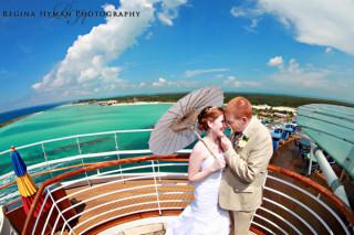Disney Cruise Wedding Photos: Amanda + Brandon