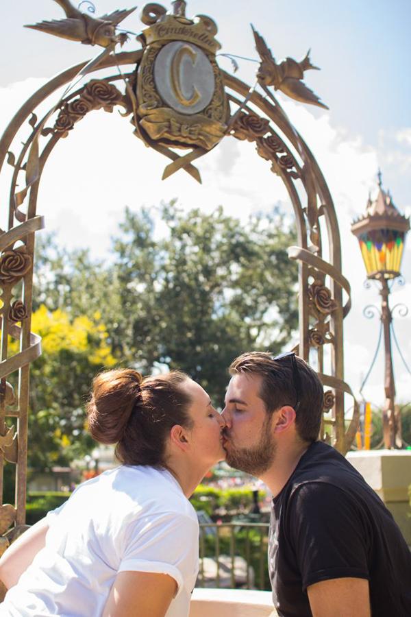 A Pre Wedding Photo Session at the Magic Kingdom