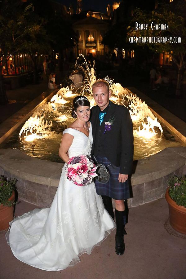 Disney Fairy Tale Wedding: Michelle + Aaron