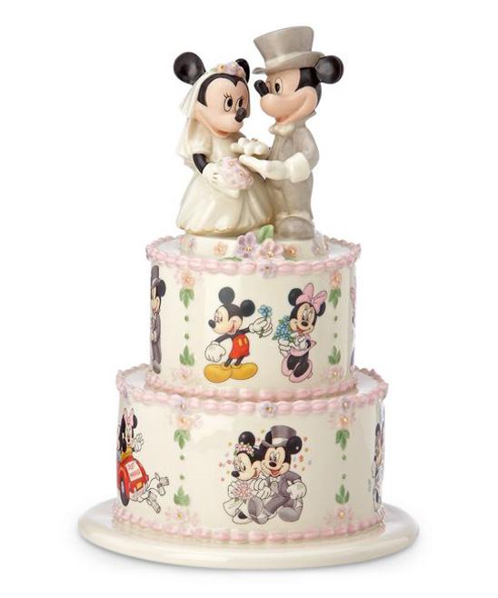 Cake Toppers Disney Uk : Disney Wedding Cake Toppers by Lenox Disney Classics