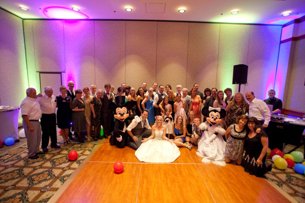 Disney Wedding at Shades of Green: Rachel + Steven
