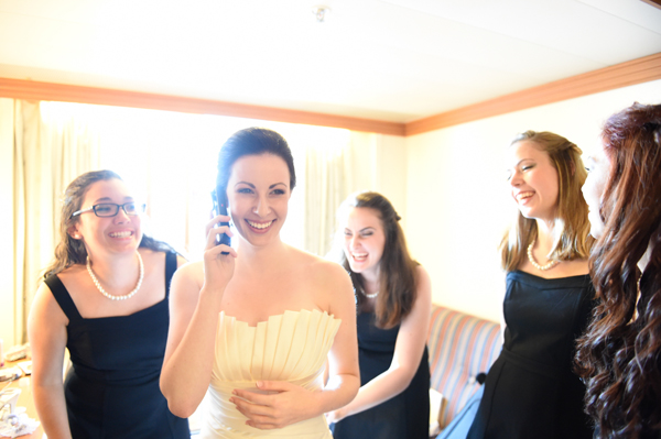 Disney Cruise Wedding: Lydia + Dave