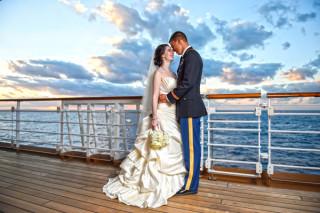 Disney Cruise Wedding: Lydia + Dave