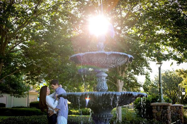 Disney Engagement Photos at Saratoga Springs: Casey + Todd