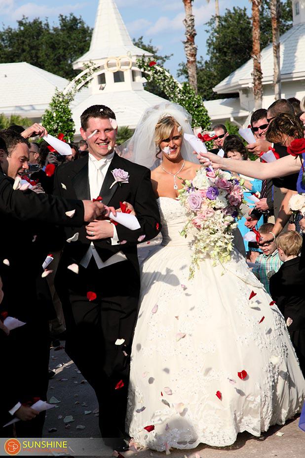Fantastic Disney Wedding Cake: Marissa + Calvin