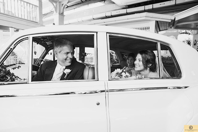 A Disney Wedding with a Surprise Guest: Kelly + Christian