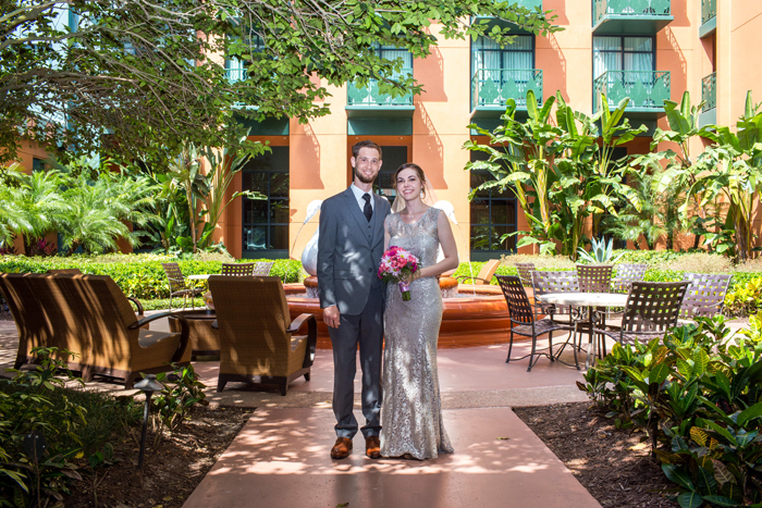 Disney Wedding at the Swan and Dolphin: Allison + Tim