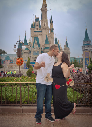 Walt Disney World Engagement Photos3